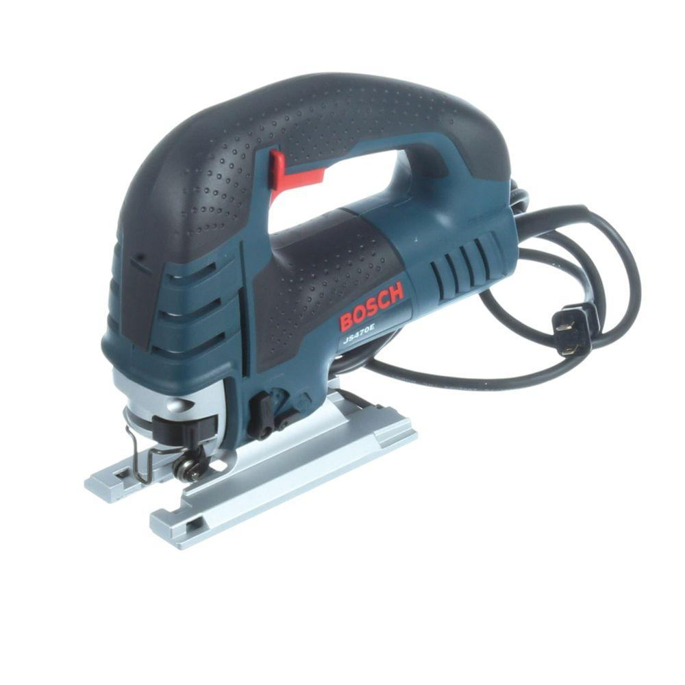 Bosch 7 amp corded variable speed top handle jig saw with carrying bosch 7 amp corded variable speed top handle jig saw with carrying case js470e the home depot greentooth Gallery