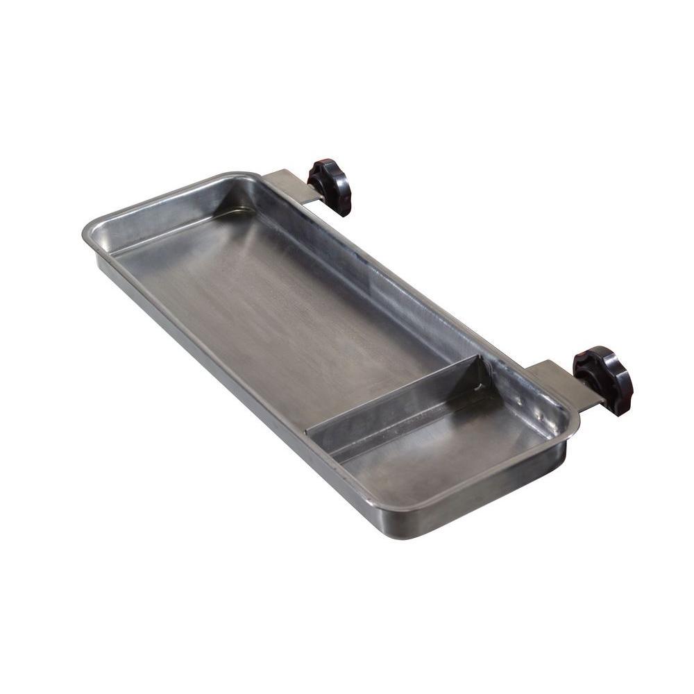 6 in. x 13.75 in. x 0.875 in. Steel Side Tray