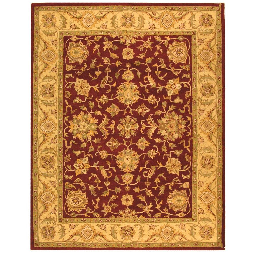 Safavieh Antiquity Red Gold 5 Ft X 8 Ft Area Rug At312c