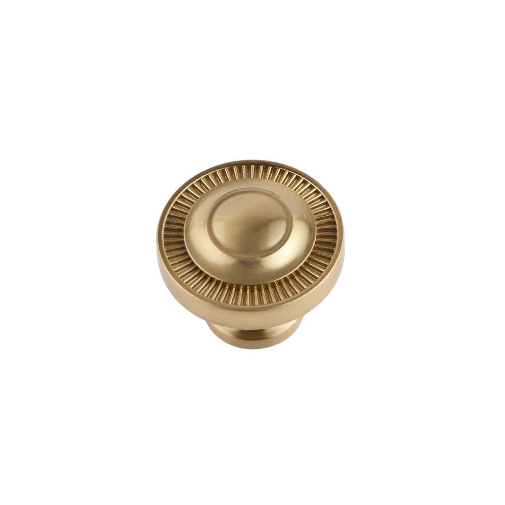 Minted 1.5 in. Satin Brass Large Knob
