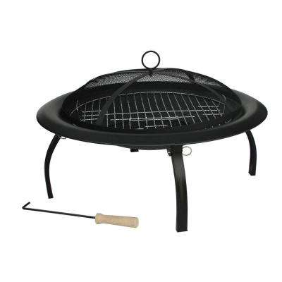 29 in. Folding Fire Pit