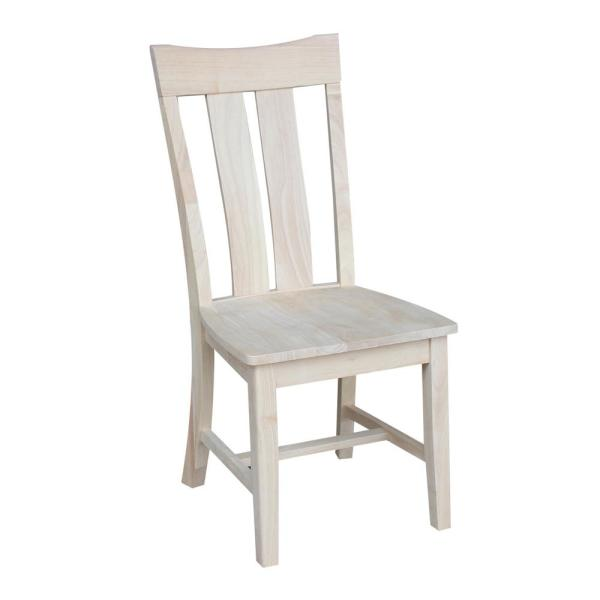 International Concepts Ava Unfinished Steambent Dining Chair (Set of 2) C-13P