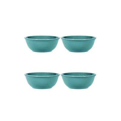 6 in. Blue Soup Bowls (Set of 4)