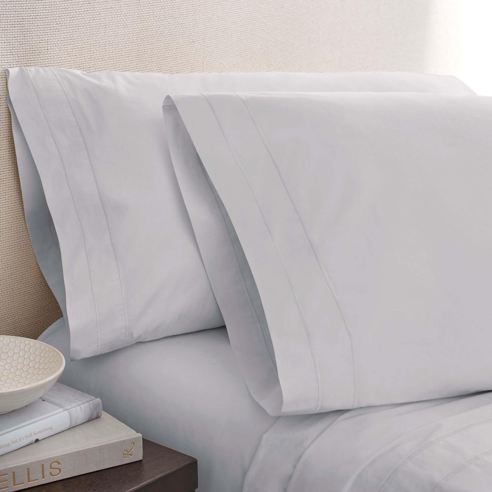 Mist Cotton Twin Pillowcase Pair