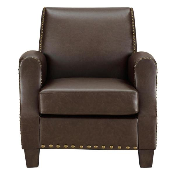 Dorel Raymond Brown Club Chair