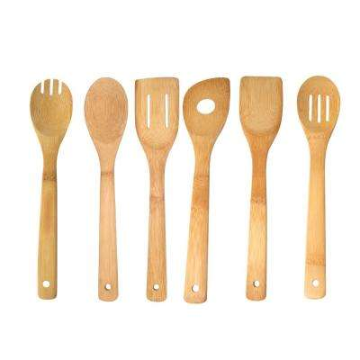 Bamboo Kitchen Utensil Set (Set of 4)