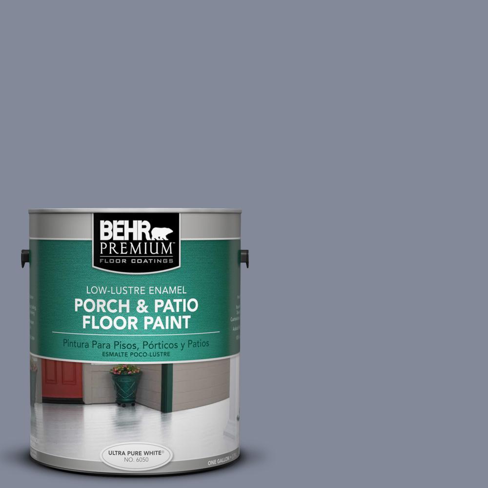 1 gal. #PPU15-08 River Tour Low-Lustre Porch and Patio Floor Paint