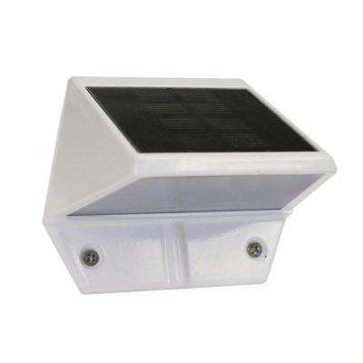 White Solar Deck and Wall Light