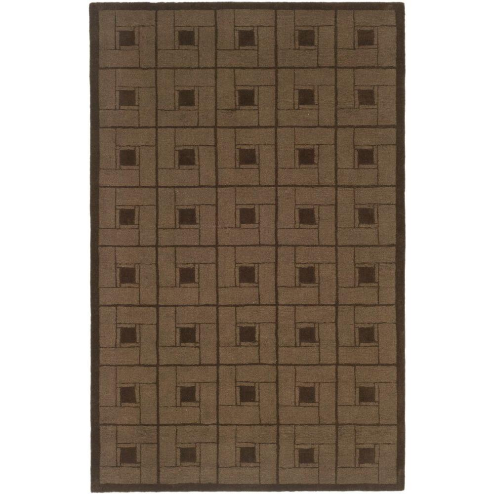 Martha Stewart Living Square Knot Bay Colt 9 ft. x 12 ft. Area Rug