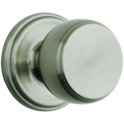 Ganyon Satin Nickel Passage Hall/Closet Push Pull Rotate Door Knob