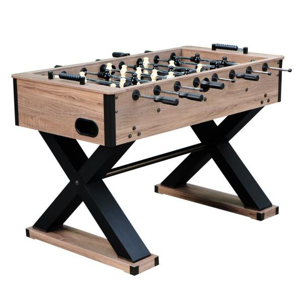 Excalibur 54 in. Foosball Table in Driftwood
