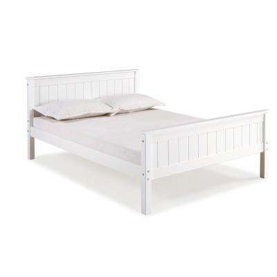 Harmony White Full Bed