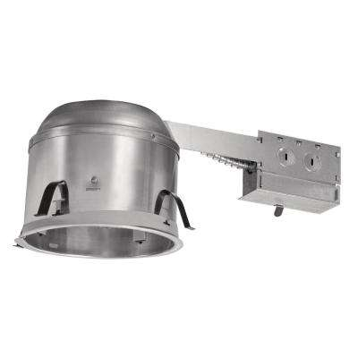 H27 6 in. Aluminum Recessed Lighting Housing for Remodel Shallow Ceiling Insulation Contact Air-Tite