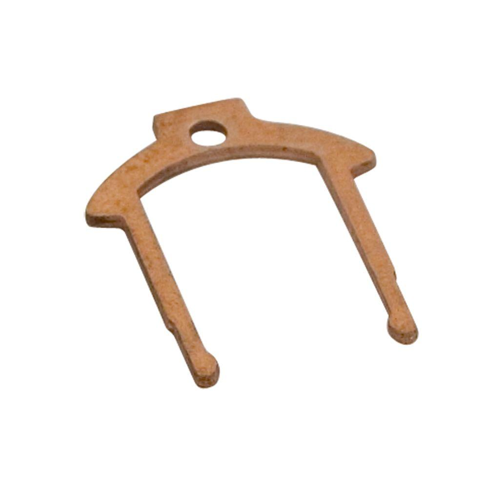 MOEN 883 Replacement Retainer Clip for Lavatory/Tub and Shower, Unfinished Brass