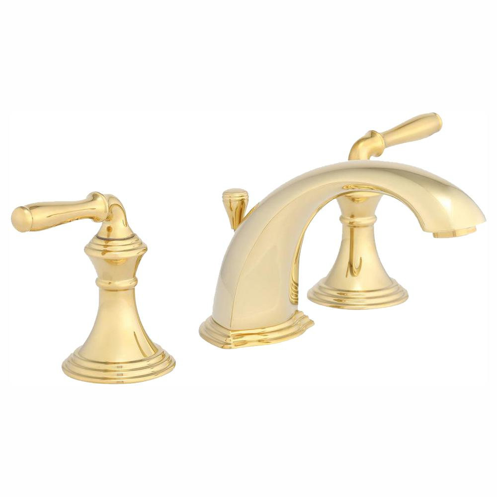 KOHLER Devonshire 8 in. Widespread 2-Handle Low-Arc ...
