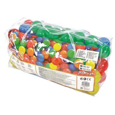 2.5 in. Club Multi-Colored Play Pool Balls (100-Pack)