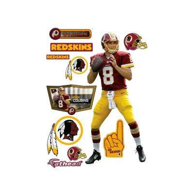 77 in. H x 36 in. W Kirk Cousins Wall Mural