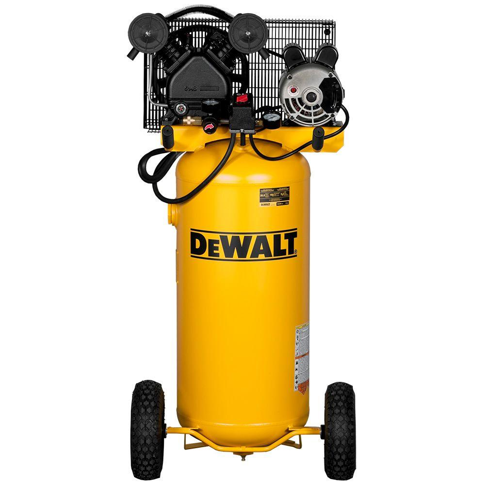 DEWALT 20 Gal. 155 PSI Single Stage Portable Electric Air Compressor