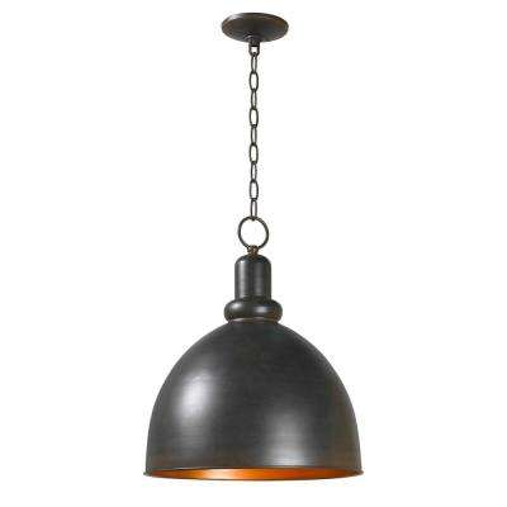 Loft 1-Light Rust Pendant
