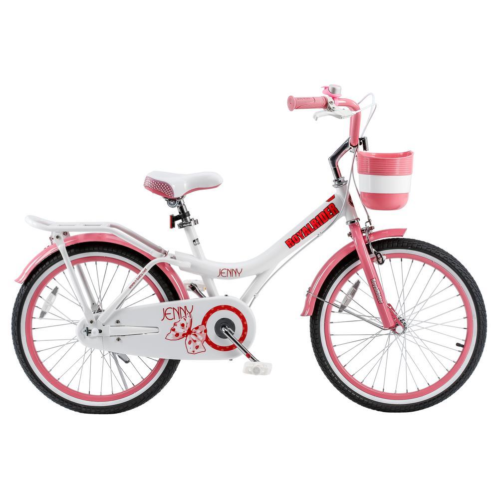 Royalbaby Jenny Princess Pink Girls Bike With Kickstand -1218