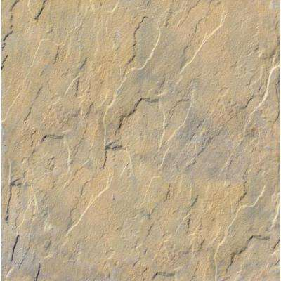 Patio-on-a-Pallet 12 in. x 12 in. Concrete Traditional Tan Variegated Yorkstone Paver (100-Pieces)