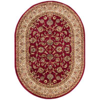 Barclay Sarouk Red 5 Ft 3 In X 6 10