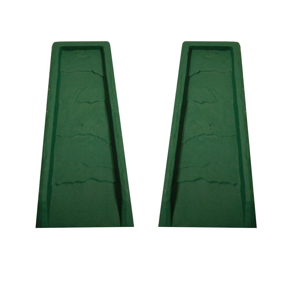 Master Mark Block Green Gutter Down Spout Splash 2 Pack