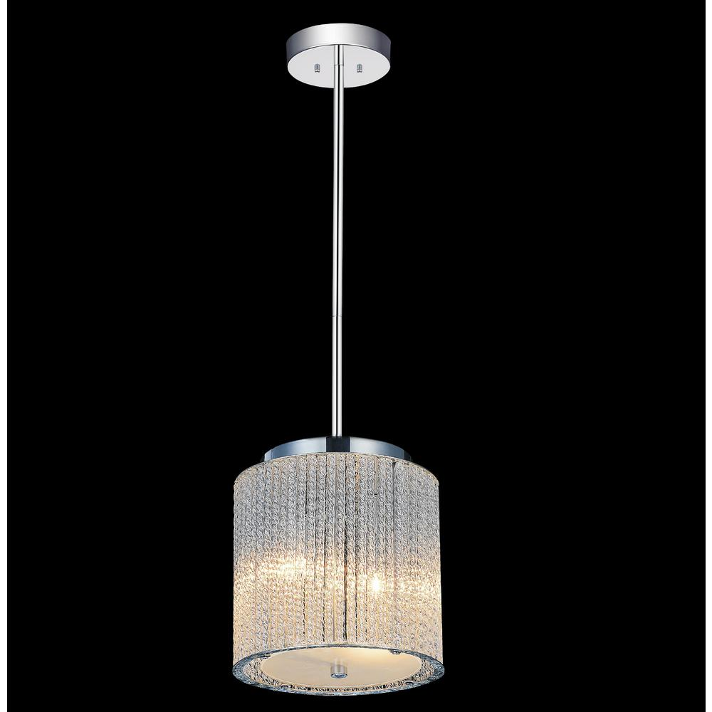 Colbert 2-Light Chrome Pendant