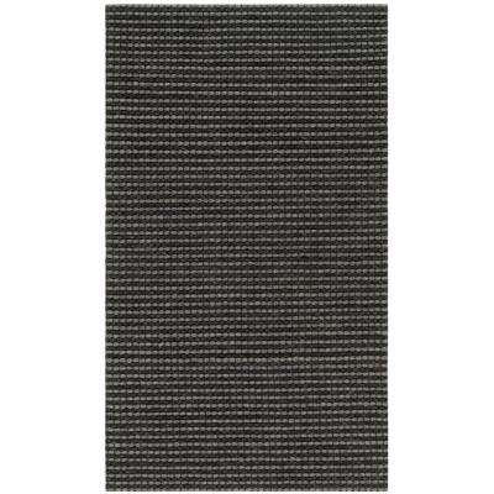 Natura Gray/Black 3 ft. x 5 ft. Area Rug