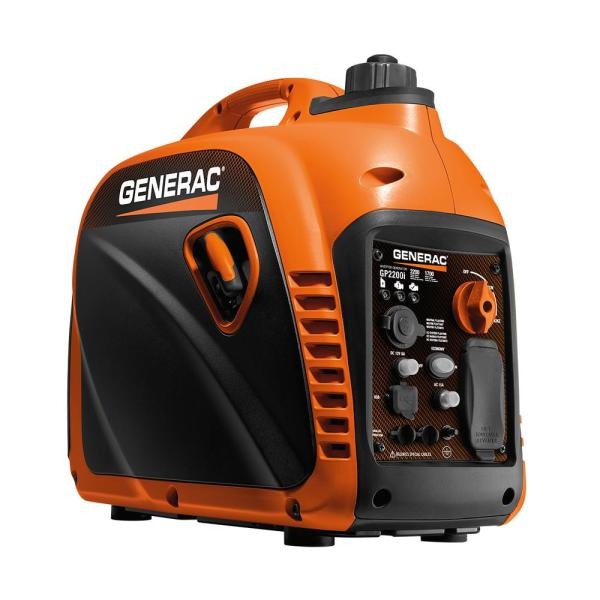 GP2200i - 2200-Watt Gasoline Powered Recoil Started Residential Portable Inverter Generator
