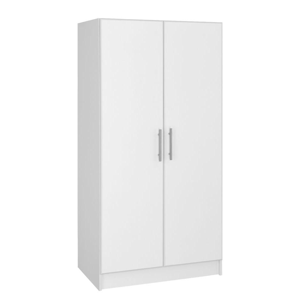 Hampton bay in h wardrobe cabinet white thd a