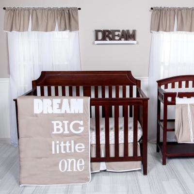 Dream Big Little One 3-Piece Crib Bedding Set