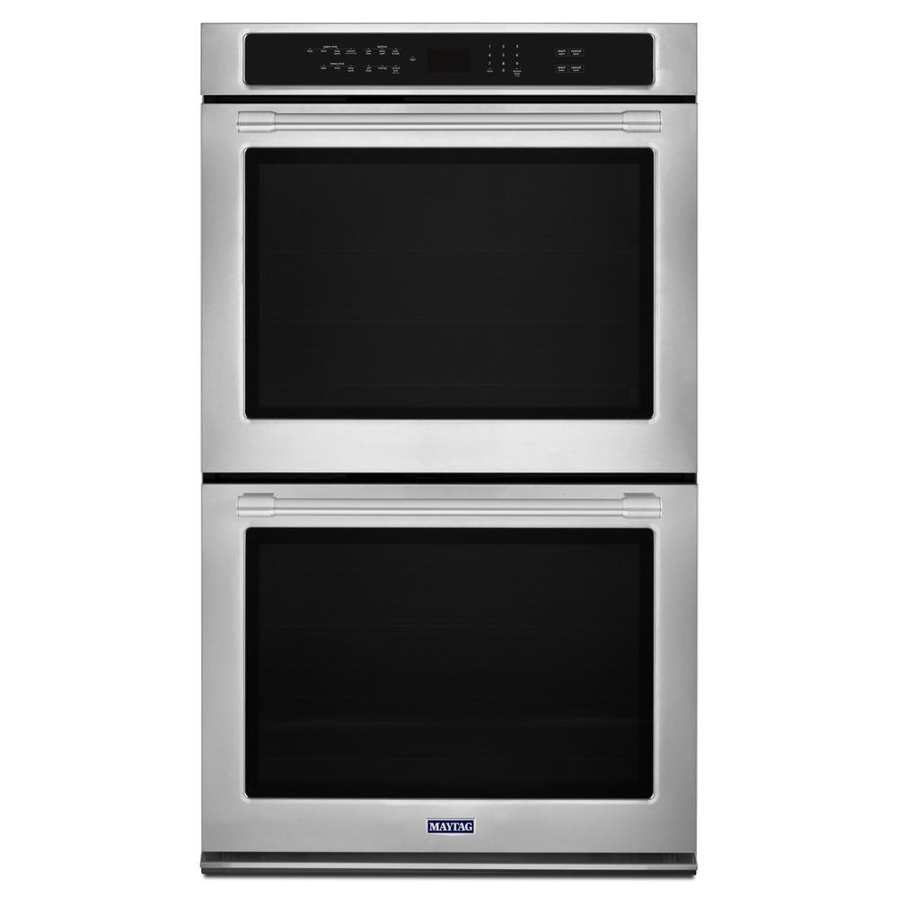 Double Electric Wall Oven With True Convection In Fingerprint Resistant Stainless Steel