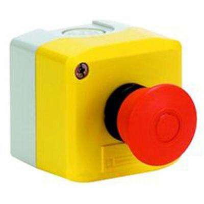 22 mm Mushroom Head Maintained Push Button Switch in Control Station