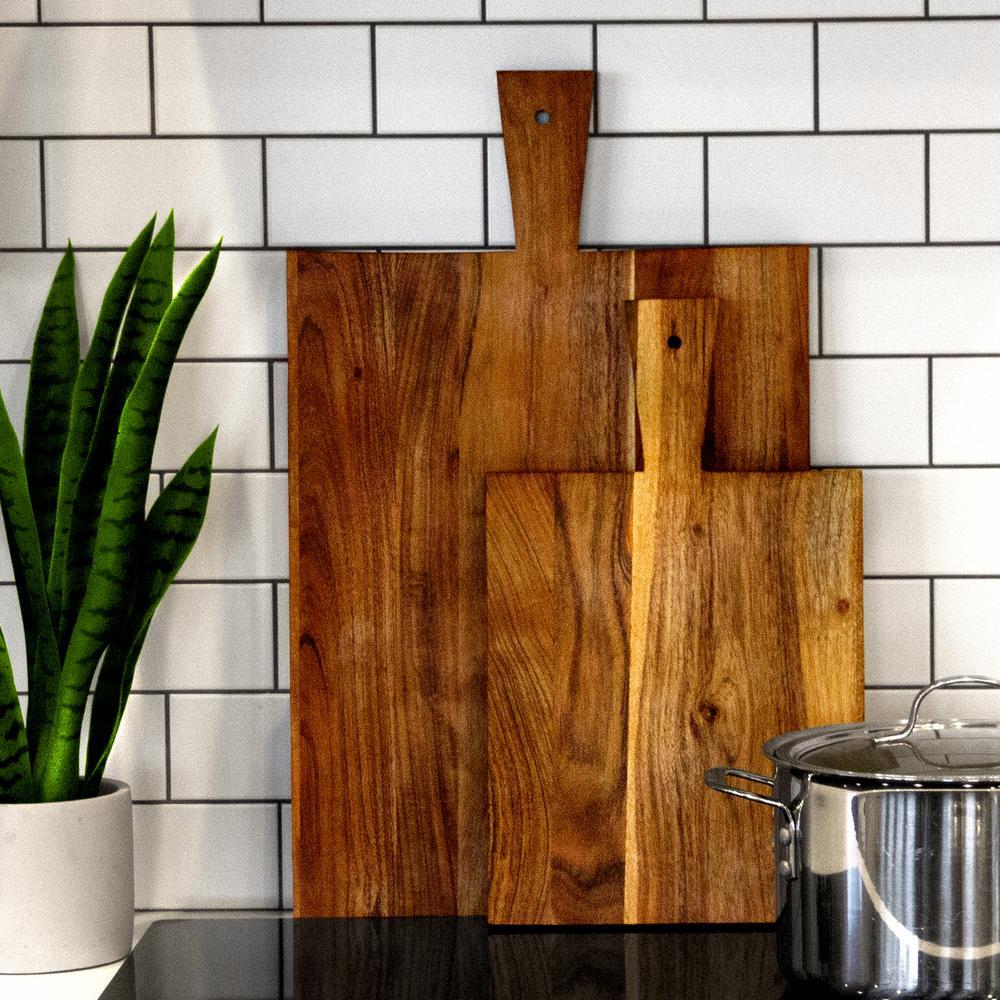 Artisan Wood - Farmhouse Natural Decorative Board