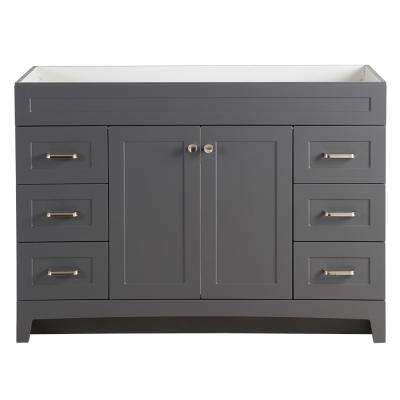 Thornbriar 48 in. W x 21 in. D Bathroom Vanity Cabinet in Cement
