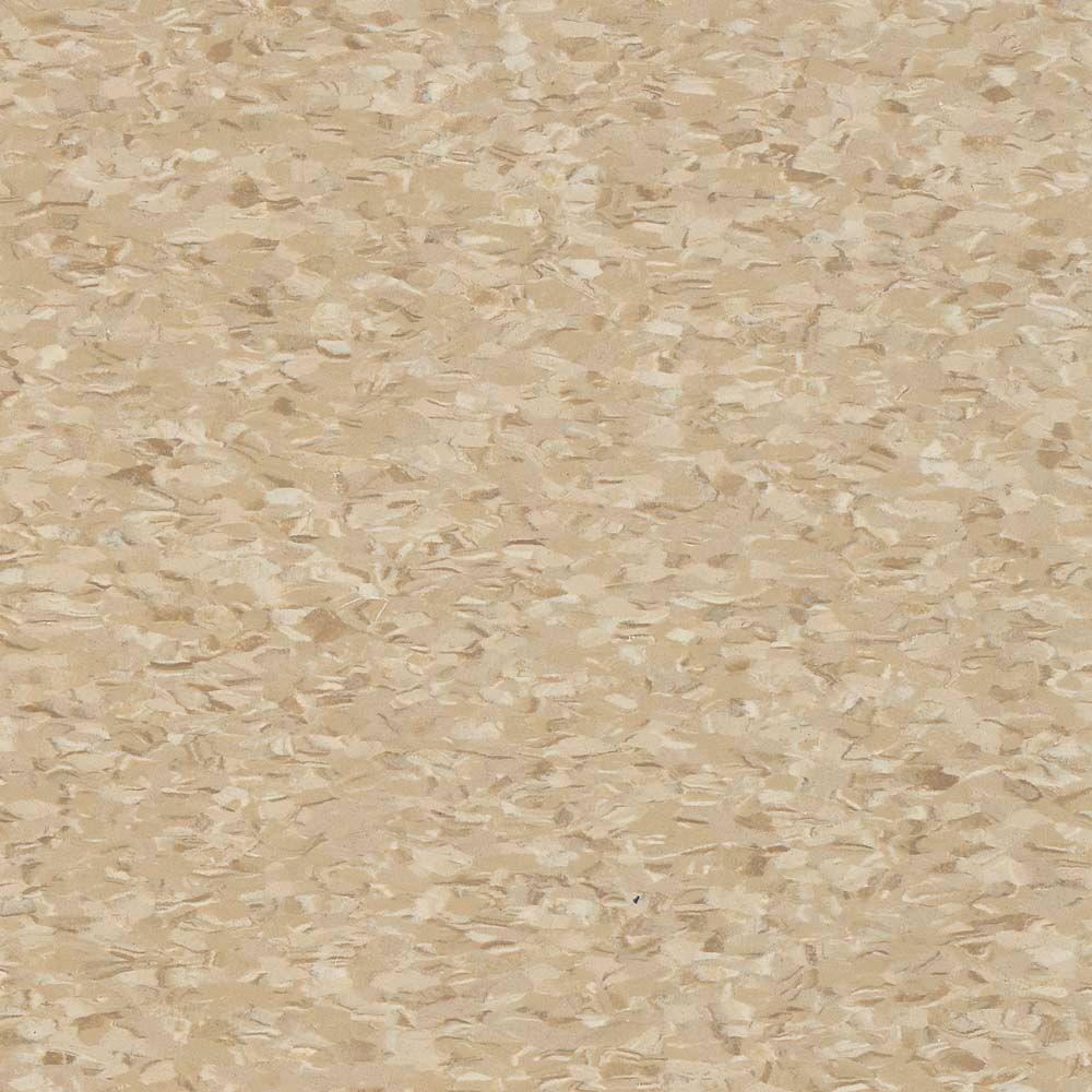 Civic Square VCT 12 in  x 12 in  Stone Tan Commercial Vinyl Tile (45 sq   ft  / case)