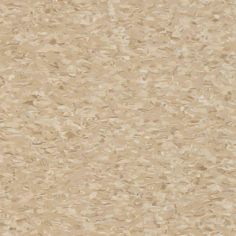Civic Square VCT 12 in. x 12 in. Stone Tan Commercial Vinyl Tile (45 sq. ft. / case)