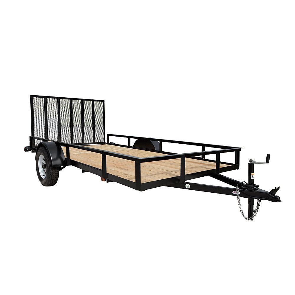 Triple Crown 1940 Lb Capacity 6 Ft X 12 Ft Utility Trailer