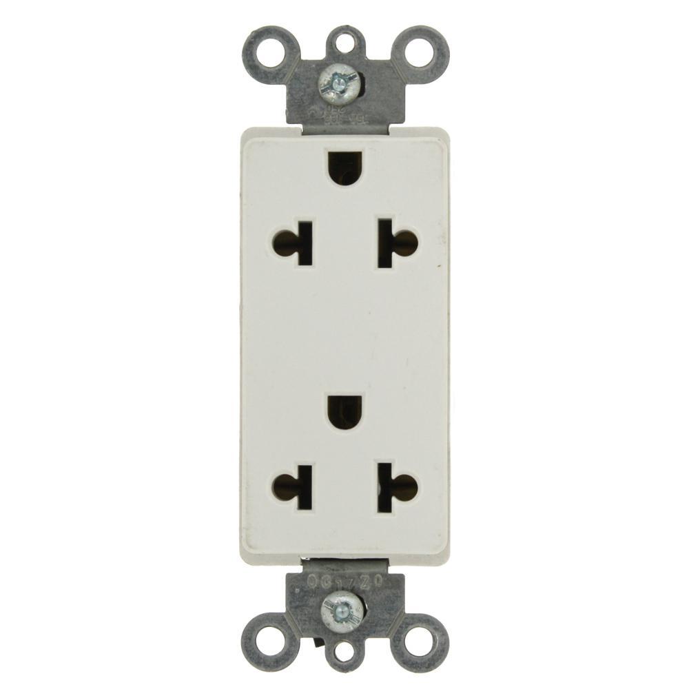 Leviton Decora 15 Amp Commercial Grade Dual-Voltage Universal ...