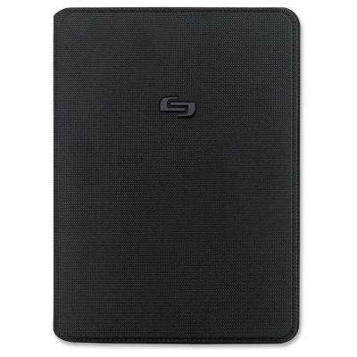 iPad Air Classic Black Polyester Book Fold Carrying Case