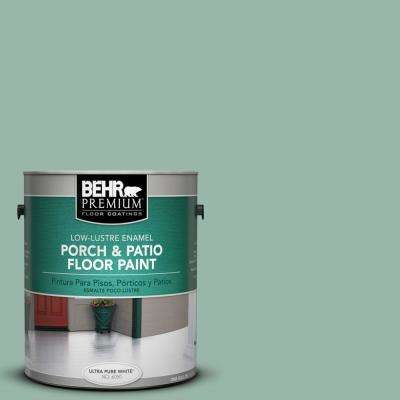 1 gal. #S420-3 Nile River Low-Lustre Porch and Patio Floor Paint