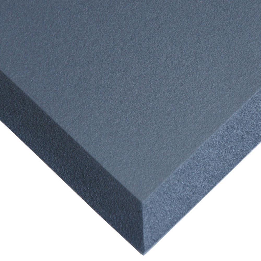 Comfort Cloud Black 24 in. x 36 in. Foam Comfort Mat