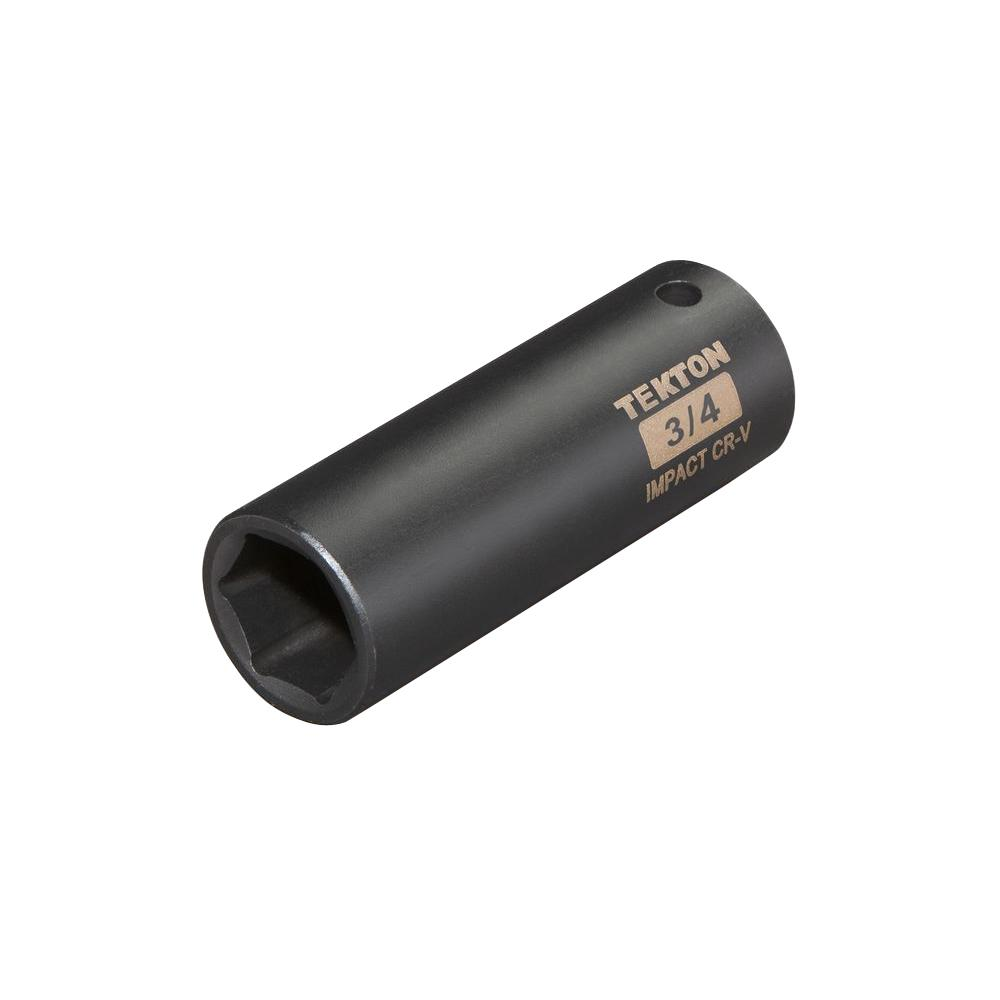 1/2 in. Drive 3/4 in. 6-Point Deep Impact Socket