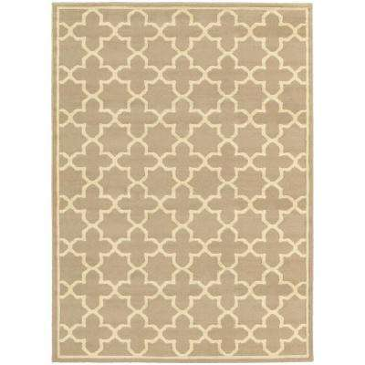 Darlington Tan 5 ft. x 7 ft. Area Rug