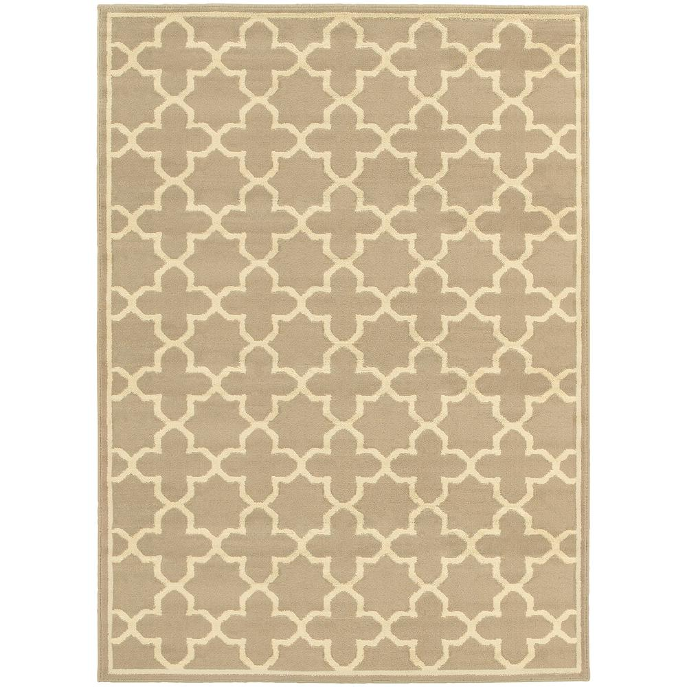 Darlington Tan 7 ft. 10 in. x 10 ft. Area Rug