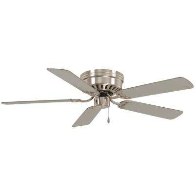 Mesa 52 in. Indoor Brushed Nickel Ceiling Fan