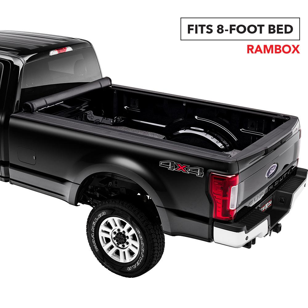 Truxedo Lo Pro Tonneau Cover 17 19 Ford F250 350 450 8 Ft 2 In Bed 579601 The Home Depot