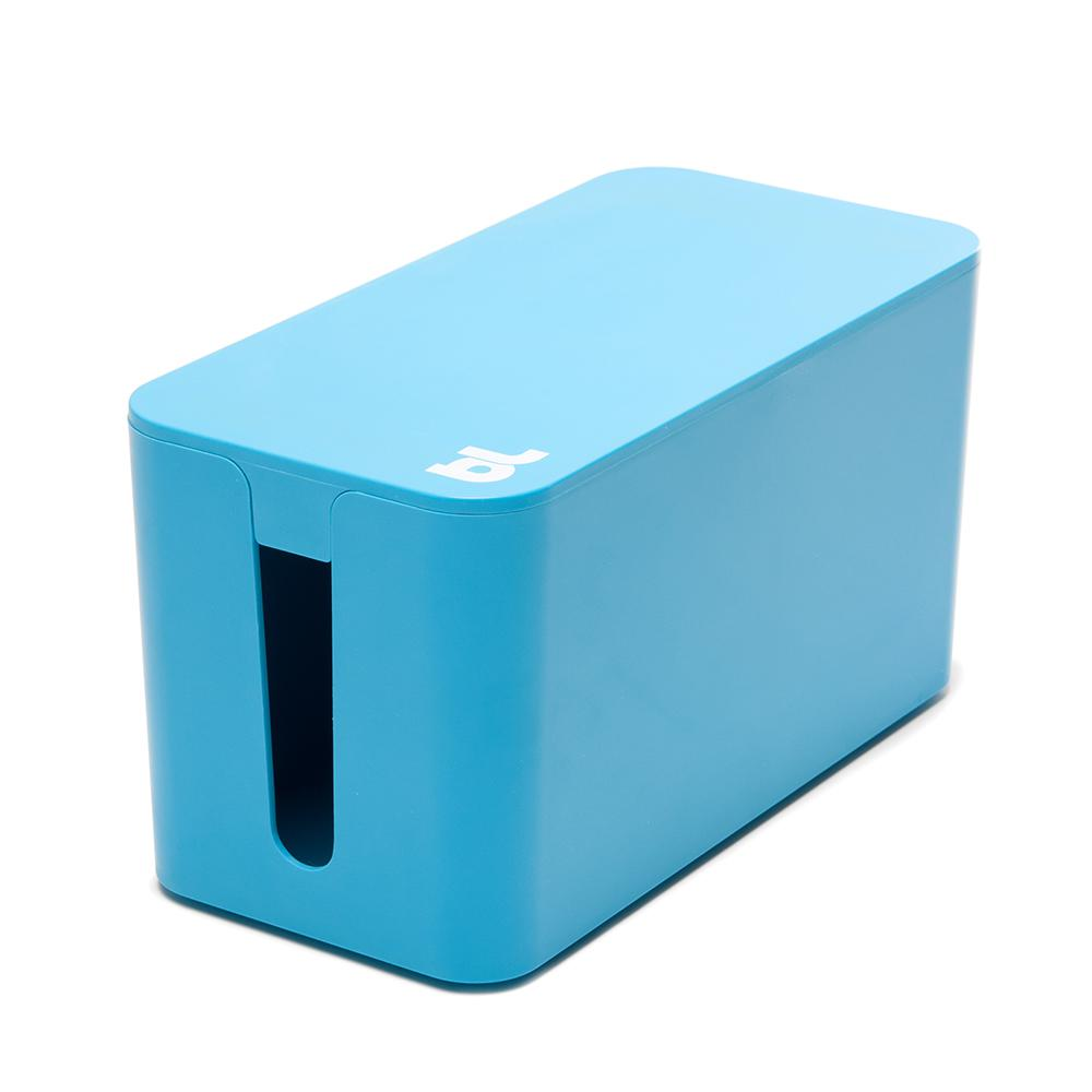 CableBox Mini with Surge Protector, Blue