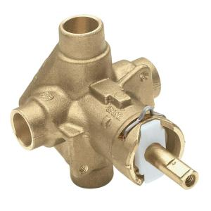 Moen Brass Rough-In Posi-Temp Pressure-Balancing Cycling Tub and Shower Valve - 1/2 inch CC Connection by MOEN
